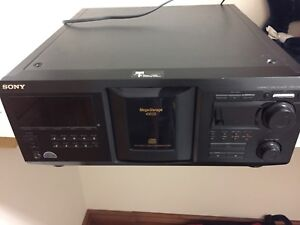 Sony Compact Disc Player 400 CDs