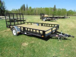 """NO GST SALE ON NOW!  - 83"""" x 14 ft PJ Utility trailers"""
