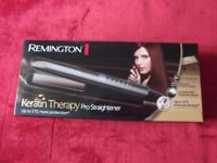 REMINGTON KERATIN THERAPY PRO STRAIGHTENER + Heat Resistant Mat & Pouch: Model No. S8590: BRAND-NEW