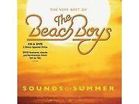 CD AND DVD, BEACH BOYS, VERY BEST OFF