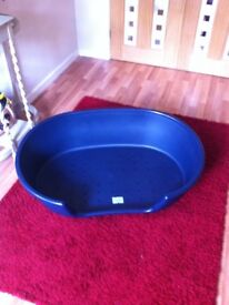 PLASTIC DOG BED (EXTRA LARGE) BRAND NEW