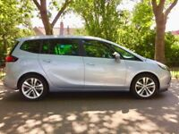 PCO 2015 Vauxhall Zafira Tourer SRi | 7 Seaters | Very Low 5,350 Miles | Fresh 1 Year PCO Uber 2015
