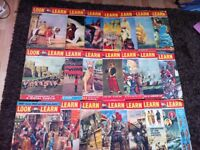 Look and Learn magazine - 21 issues from 1962