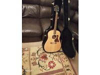 Gibson J-35 Semi Acoustic Guitar in Pristine Condition. American made 2013 model. £1299 new price.