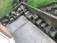Yorkshire stone cobbles for sale £2
