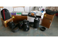 Nikon D7200 24.2MP Camera+3 Lenses+Metz Flash+Filters+Other Extras