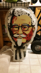 KFC colonel Sanders collectable vintage sign.