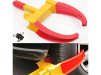 Wheel Clamp Car Vehicle Heavy Duty Anti-Theft Security Safety Lock with 2 Keys