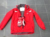 Teenage Ski jacket and gloves