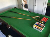 Pool Table - free to collect