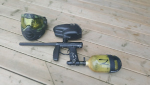 Empire Axe full paintball package