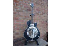 Electro acoustic Resonator Guitar