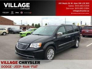 2015 Chrysler Town & Country Limited|NAV|2 DVDS|TOW|SAFETY|LOW K