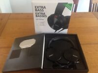 Sony Extra Bass Headphones MDR-XB950AP nearly new in box complete. PRICE REDUCED