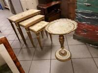 Lovely French style set of 4 tables
