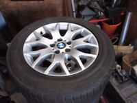 BMW X5 E70 WINTER WHEELS AND TYRES