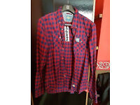 Superdry XXL( UK standard XL) Casual shirt with tags