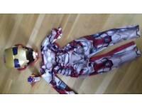 Iron Man costume, helmet and hand lazer