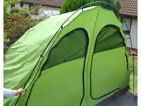 Tent Vango Eos 550XL - INNER bedrooms (& ripped outer)