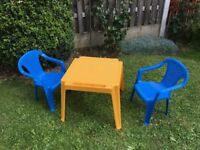 Childrens Garden Tabke and Chairs, Playroom, Nursery