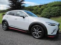 2015 Mazda CX-3 1.5TD 105BHP SKYACTIV-D SPORT NAV LOW MILEAGE £20 ROAD TAX