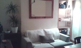 Belgian Sofa Bed In Excellent Condition: Hand Manufactured Luxury Item