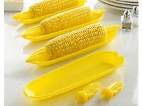 Corn on the cob holder set