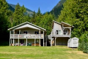 Waterfront property in Kaslo BC