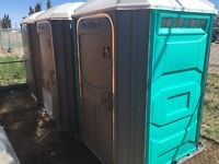 Portable toilets for rent