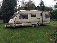 Large Elddis Caravan. Available free for collection