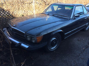 1974 450sl two hard and soft top
