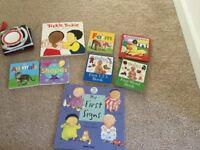 Various books for children.