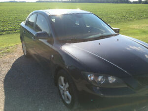 2006 Mazda 3 Sedan + EXTRAS - MAKE AN OFFER and I'll deliver it!