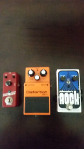 Some pedals for sale