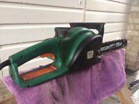 "electric chainsaw ProPerformance 1700w 14"" bar"