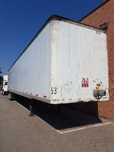 Strick 53' enclosed trailers-Two available!