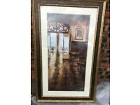 For Sale Tall French Bistro Scene Painting