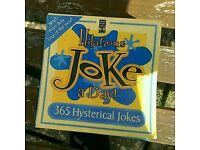 Joke Book. 365 Sheets one to pull out every day