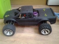 shumacher menace 21 1/10 scale,rc nitro truck