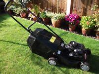"""16"""" petrol push lawn mower"""