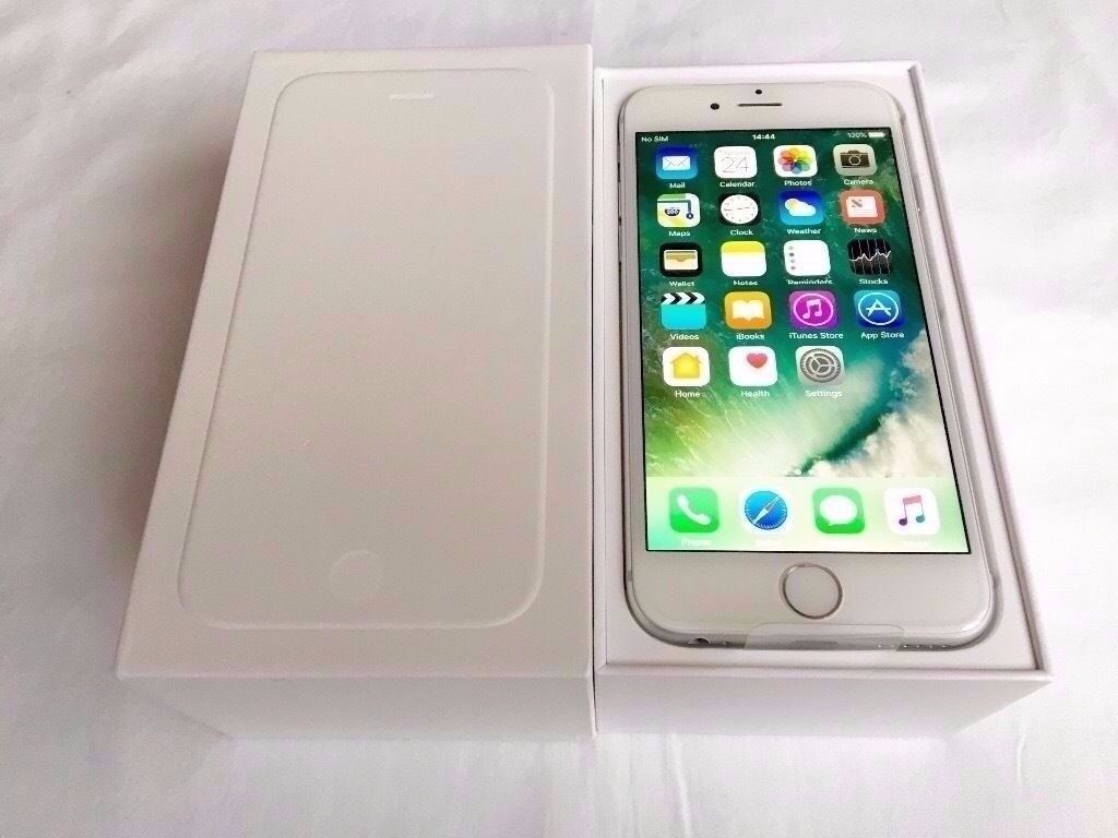 iPhone 6 16gb WhiteSilver BoxedUnlocked To All Networks or Sim Providersin Llantwit Major, Vale of GlamorganGumtree - iPhone 6 16gb White & Silver Boxed ✨Unlocked To All Networks or Sim Providers✨ NO OFFERS SORRY (IF IGNORED YOU WILL GET BLOCKED) Screen and a Phone Frame mint as pictures illustrate