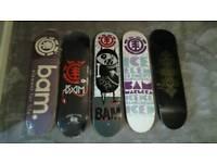 Bam margera skateboard decks