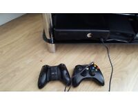Xbox 360 games console and 12 games