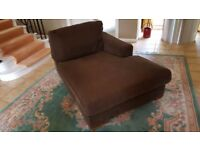 Chaise longue sofa - can deliver locally