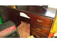 Dresser and stool