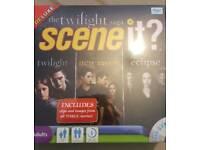 Twilight saga game SCENE IT brand new