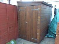 Wooden Bike shed / shed