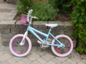 Blue/White Children's bicycle