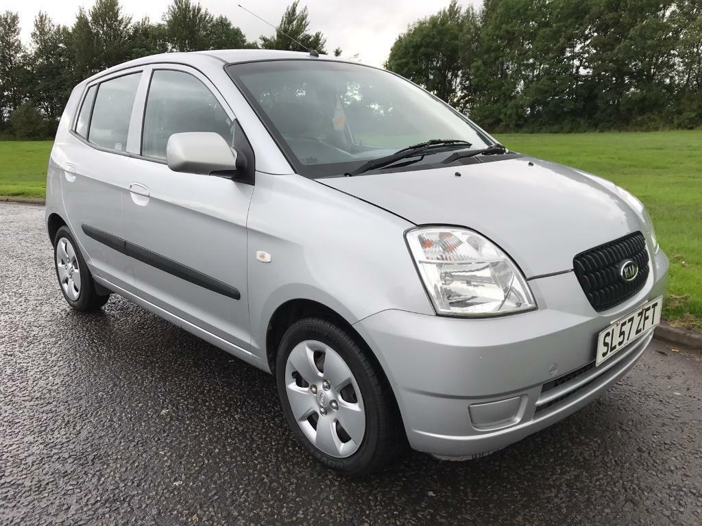 2007 57 kia picanto 1 0 gs 5door insurance group 2 full 12 months mot cheap to run and insure. Black Bedroom Furniture Sets. Home Design Ideas