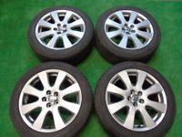 17 inch avensis alloy wheels good condition
